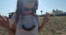 antoniya tonka zorluer on the beach, hustlin