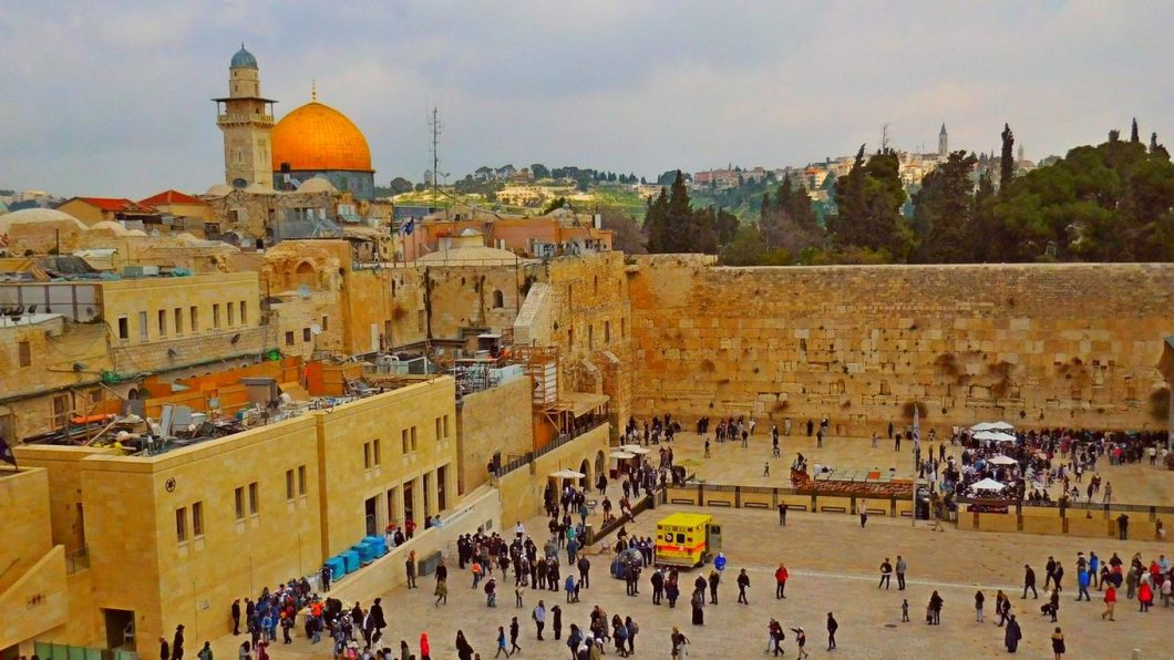 History of Jerusalem, Wailing Wall, Featured Image, Dome of the Rock