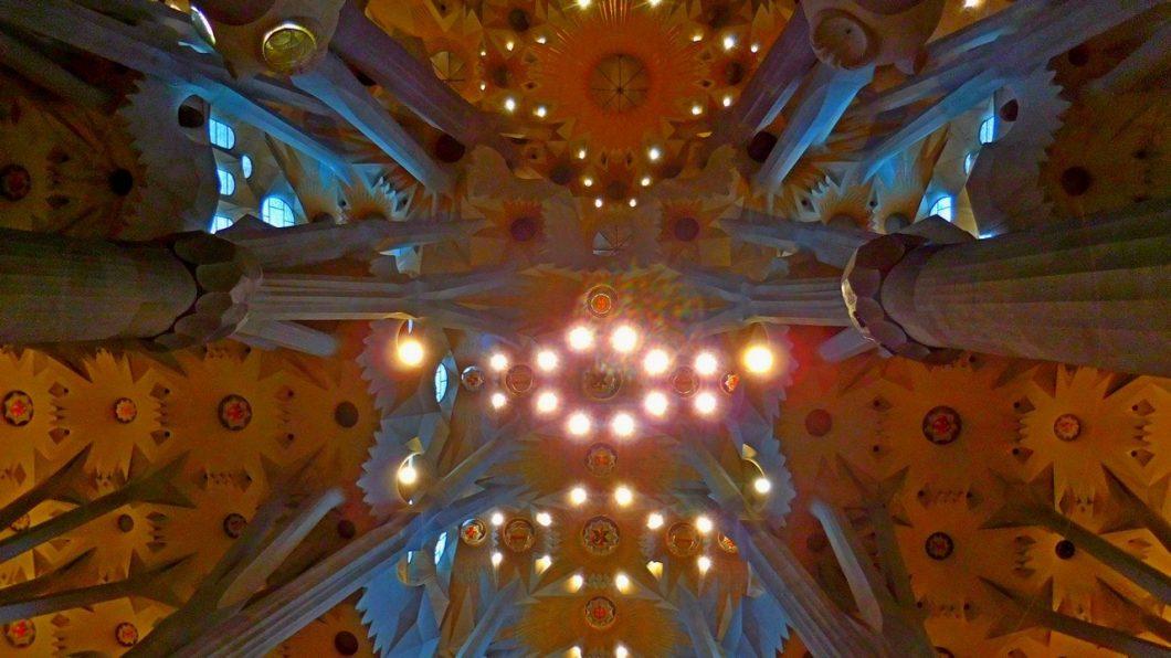 Sagrada Familia, Barcelona, Interior, Featured Image