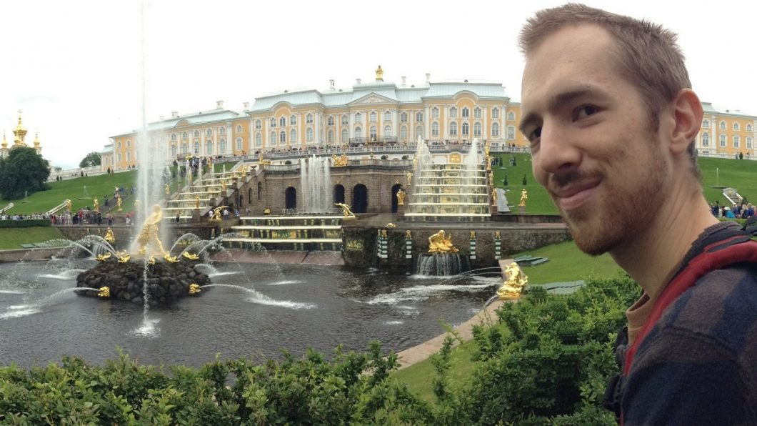 Young Entrepreneurs Talk, Andrew Walton, Peterhoff, St. Petersburg, Russia